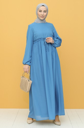 Robe Hijab Indigo 4340-03