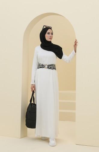 فستان بيج فاتح 8325-01