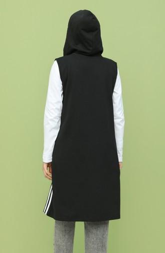 Gilet Sans Manches Noir 5075-01