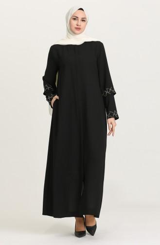 Black Abaya 9002-01