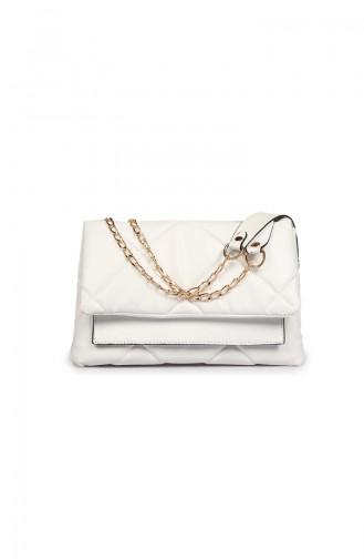 White Shoulder Bags 41Z-09