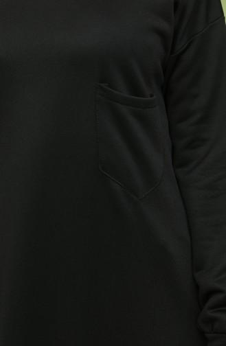 Schwarz Pulli 1571-18
