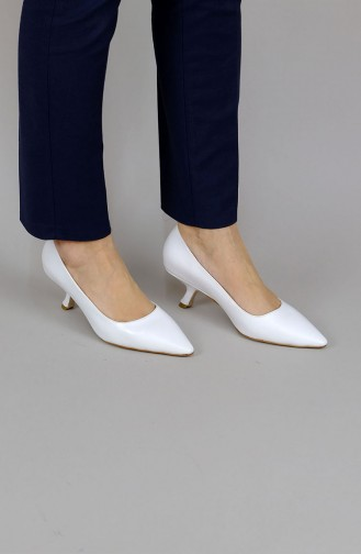 Chaussures a Talons Blanc 2007mr-001