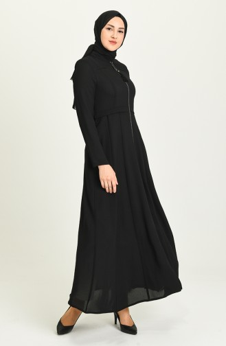 Abayas Noir 0224-06