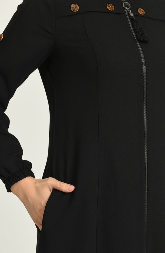 Abayas Noir 7007-01