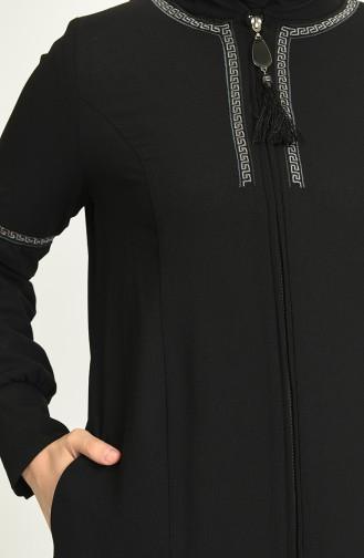 Abayas Noir 7008-05