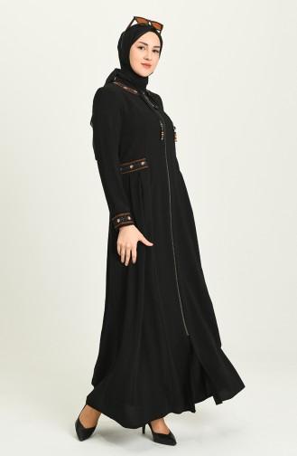 Black Abaya 7023-03