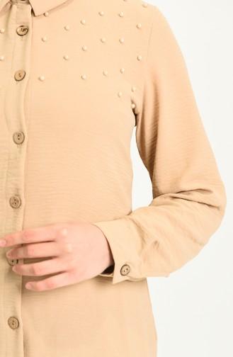 قميص عسلي 1242-04