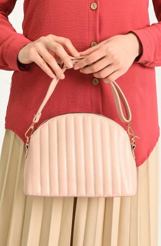 Light Pink Shoulder Bags 18-12