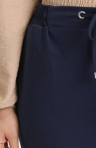 Navy Blue Broek 14100-01