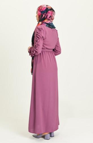 فستان رمادي 0617-06