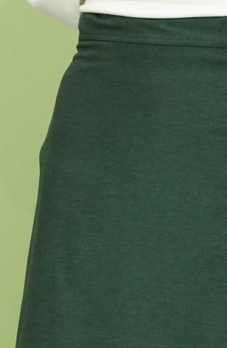 Smaragdgrün Rock 6506-03