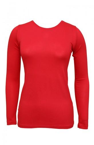 Red Bodysuit 0303-03
