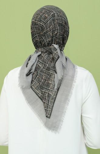 Silbergrau Kopftuch 11530-01