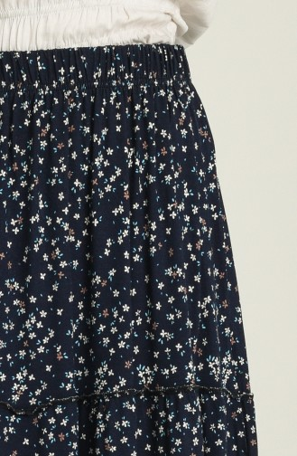 Jupe Bleu Marine 8289-02