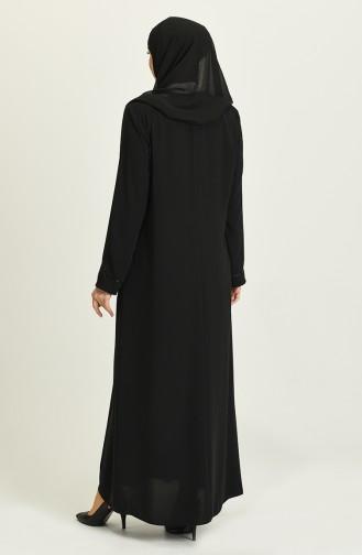 Abayas Noir 3011-06