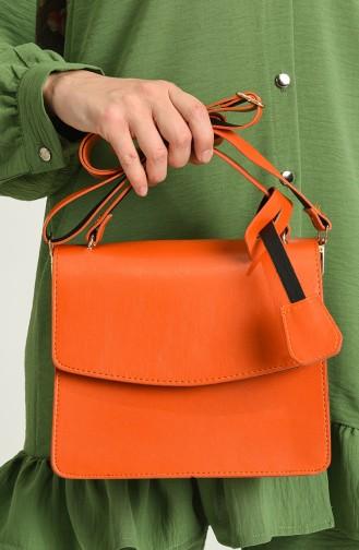 Orange Shoulder Bag 04-14