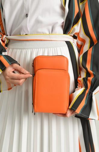 Orange Shoulder Bag 06-14