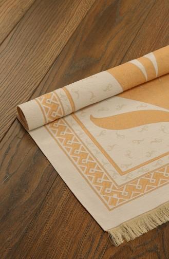 Kadife Seccade 1025-03 Beyaz Bakır