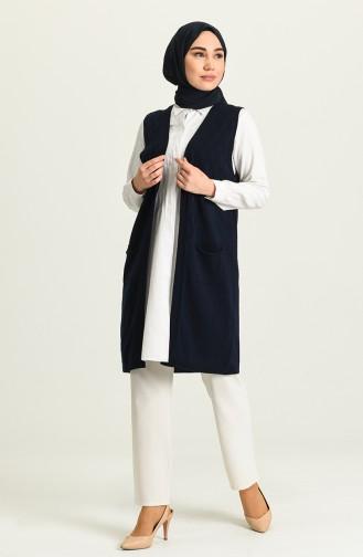 Navy Blue Waistcoats 4295-07