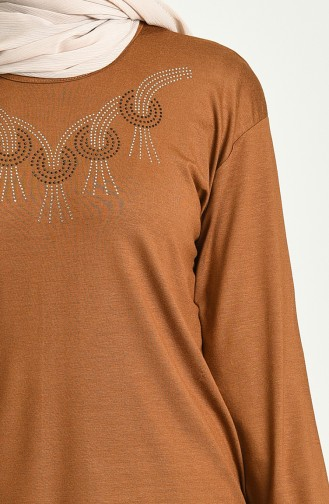 Blouse Tabac 0346-02