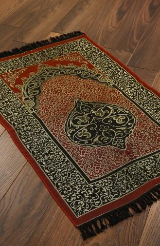 Tapis de Prière Couleur brique 1020-07