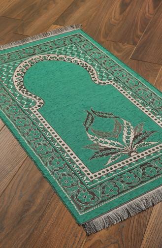 Tapis de Prière Vert 1023-01
