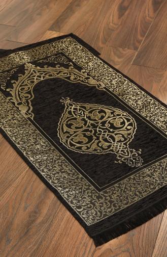 Black Praying Carpet 3002-04