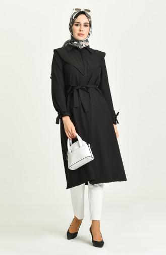 Schwarz Hijap Kleider 2034-01