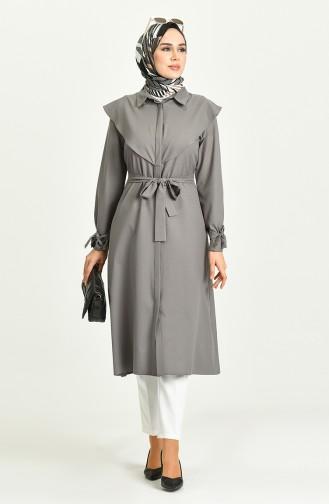 Robe Hijab Gris 2034-04