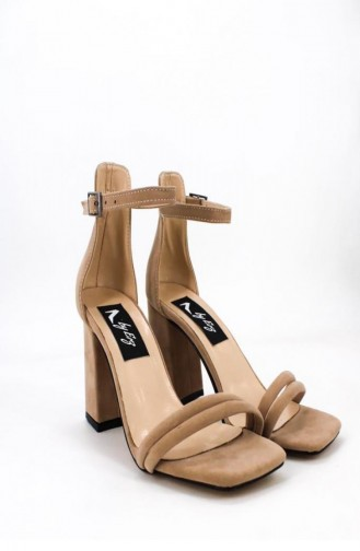 Chaussures a Talons Couleur de teint 00702.TENSUET