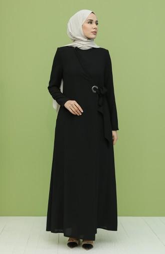 Abayas Noir 8020-02