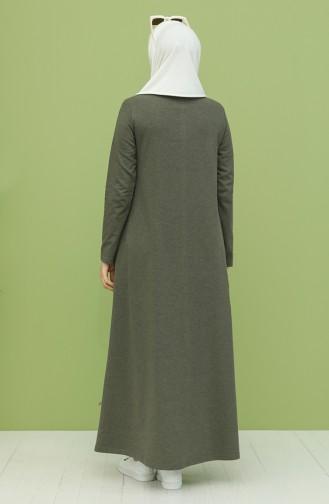 فستان كاكي 3279-03