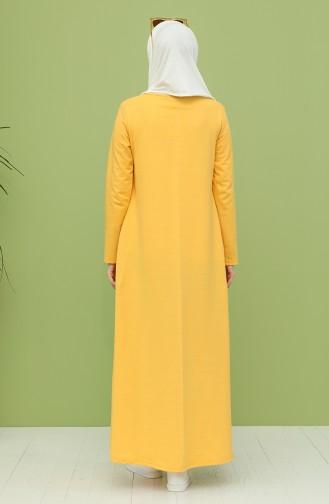 Yellow İslamitische Jurk 3279-11