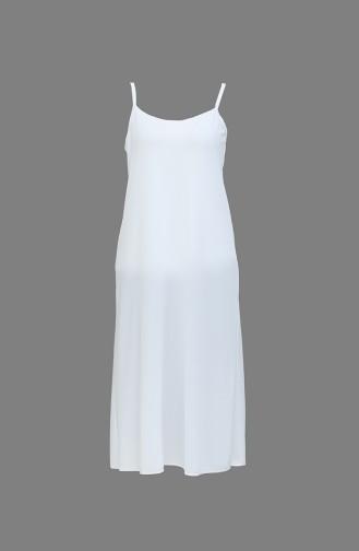 Askılı Elbise Astarı 0719-02 Beyaz 0719-02