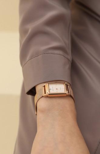 Rose Tan Wrist Watch 2970RGRG