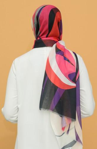 Flieder Farbe Schal 3028KE-09-04