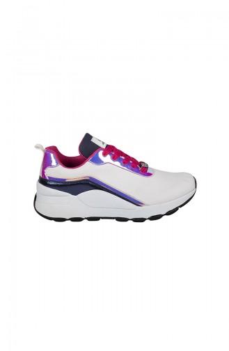 White Sneakers 1009-4