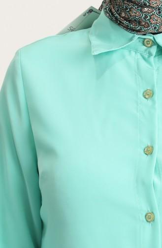 Mint green Tuniek 6509-05