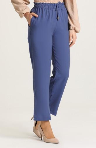 Aerobin Fabric Pocket Trousers 0151-12 Indigo 0151-12