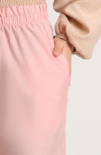 Aerobin Fabric Pocket Trousers 0151-08 Powder 0151-08
