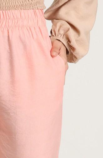 Aerobin Fabric Pocket Trousers 0151-11 Salmon 0151-11