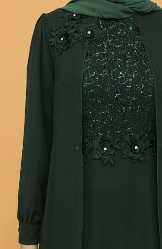 Habillé Hijab Vert 52788-05