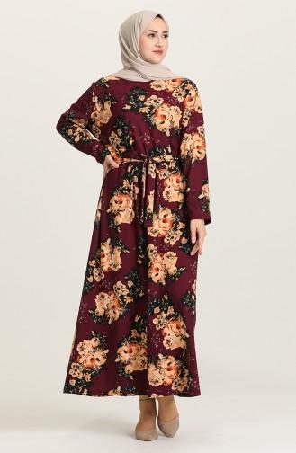 فستان أرجواني 4575B-03