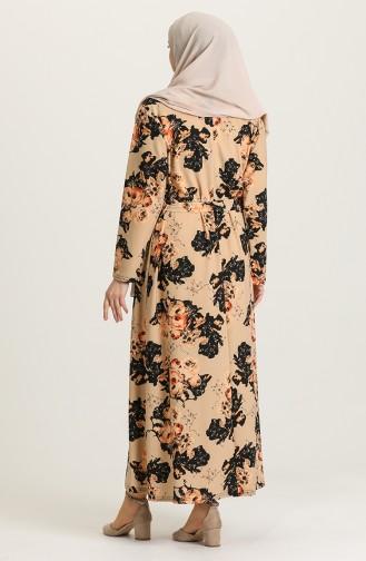 فستان بيج 4575B-04