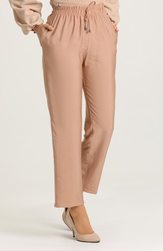 Aerobin Fabric Pants with Pockets 0151-04 Mink 0151-04