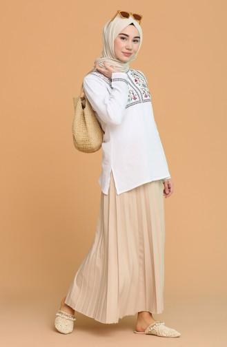 White Blouse 0011-08