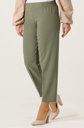 Pantalon Vert khaki clair 1983A-05