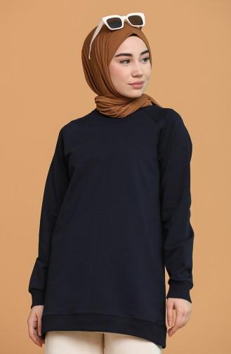 Navy Blue Sweatshirt 5074-01