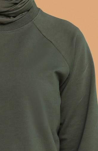 Sweatshirt Khaki 5074-04